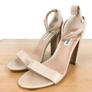 Steve Madden Carrson Blush Leather Sandals 7M